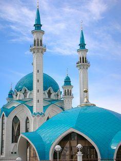 Qolşärif Mosque in Kazan, Russia...