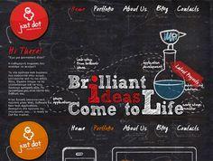 10 Excelentes diseños web que utilizan ilustraciones