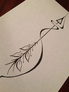Image result for arrow infinity tattoos