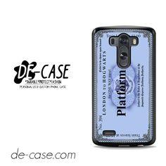 Hogwarts Blue Platform For LG G3 Case Phone Case Gift Present YO