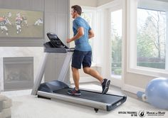 Precor TRM 445 Treadmill - Official Treadmill of the Rock N Roll Marathon Series