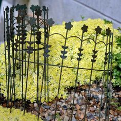 Fairy Homes And Gardens   Floral Wire Fence, $9.45 (http://www