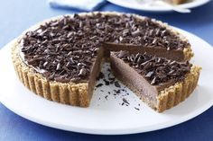A little bit of coffee essence and dark chocolate transform a special cheesecake into an exceptional one.