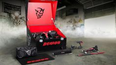 The Dodge Challenger SRT Demon is factory prepped for drag racing domination and won't come with passenger seats or likely more than 757 horsepower, but it come with a crate full of tools and gear to ask, do you even wrench bro?