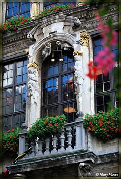 Beautiful window, Brussels, Belgium