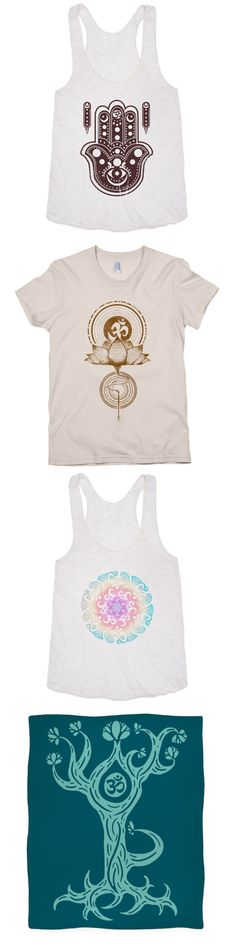 Channel your mind to a balanced state of being and find your zen with these yoga designs.