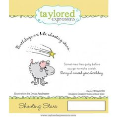 Belated Birthday - Shooting Stars