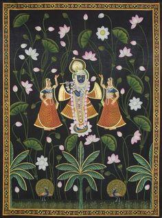نتيجة بحث الصور عن pichwai paintings