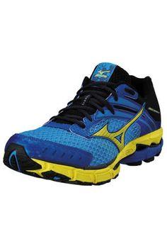 0f01af8976c5 Mizuno Men s Wave Inspire 9 Wide Running Shoes, Malibu Blue, Bike Run, New