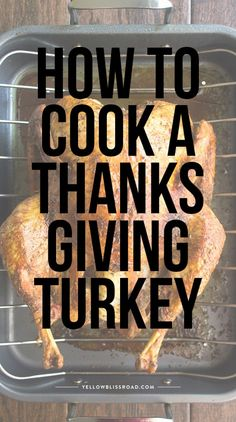 This is the BEST Thanksgiving Turkey Recipe! Learn how to cook a turkey with this easy recipe - it will be the star of your Thanksgiving Dinner. Best Thanksgiving Turkey Recipe, Thanksgiving Menu, Mole, Asian Turkey Meatballs, Biggest Chicken, Frozen Turkey, Cooking Turkey, Cooking Beets, Cooking Steak