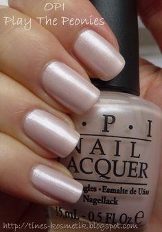 Tines Kosmetikblog: OPI Play The Peonies mit essence-Stamping