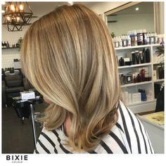 Bronde hair tones