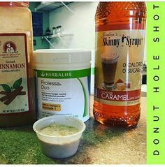 Herbal Life Donut Hole Shot with Prolessa Duo