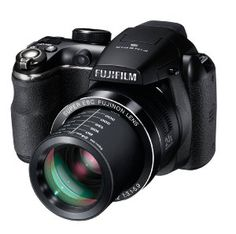 Fujifilm FinePix S4200.What's in the box: Fujifilm FinePix S4200 Digital Camera (Black), 4 x AA Type Alkaline Batteries, Shoulder Strap, USB-A/V Cable, Lens Cap and Lens Cap Cord, CD-ROM and 1-Year Limited Warranty.