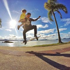 #Repost @go.photography_  Some feelings in life only can be build based on affection trust and love... Here the true meaning of #Hero  you roooOoock daddy  @igorlag3 teaching some tricks to the little @ian_kids while a #HERO4Session shooting. #GoProFamily #GoPro #LifeApp #armorx #skate #skateboard #skateboarding #ollie #stunt #summer #lifestyle