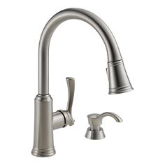 19963-SSSD-DST - Pull-Down Kitchen Faucet with Soap Dispenser