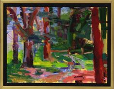 Into The Woods 9x12 Oil on Board