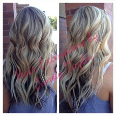 Hair extensions by Jandy Taylor