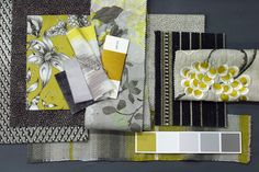 Chartreuse grey board - http://www.osborneandlittle.com/news-and-events/osborne-little-colour-trends-spring-summer-2013