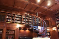 Trendy home library loft stairs ideas Loft Railing, Loft Stairs, Bookshelves In Bedroom, Country Chic Cottage, Small Loft, Trendy Home, Home Signs, House In The Woods, Bars For Home