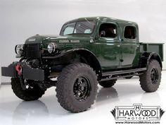 1947 Dodge Power Wagon Crew Cab Pick-Up - Love Cars & Motorcycles Dodge Trucks, Jeep Truck, Lifted Trucks, Pickup Trucks, Lifted Chevy, Mudding Trucks, Dodge Power Wagon, Cool Trucks, Big Trucks