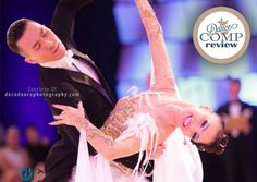 Anastasia Muravyeva Ballroom Dance Hairstyle Tutorial - Dance Comp Review