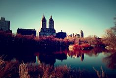 as i recall, central park in fall