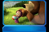 Masha and the Bear...great cartoon for kids in russian!