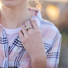 The Loretta Stone Wire Ring/ Nectar Clothing Spring 2015