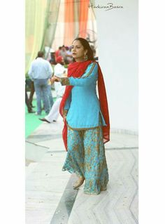 Punjabi Suit by Harkiran Basra