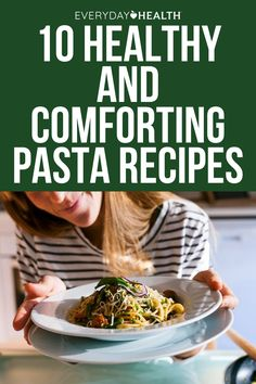 Craving pasta? Incorporate more nutrition into your bowl with these healthful recipes that feel like a warm hug. Healthy Food To Lose Weight, Healthy Food List, Heart Healthy Recipes, Healthy Meals For Kids, Healthy Foods, Recipe Maker, Lemon Pasta, Recipe Creator, Warm Hug