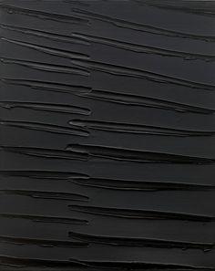 Pierre Soulages | peinture 162x130cm