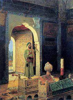 şehzade türbesinde derviş 1908