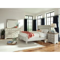 Found it at Wayfair - Solid Living Storage Sleigh Bed   Beds ...