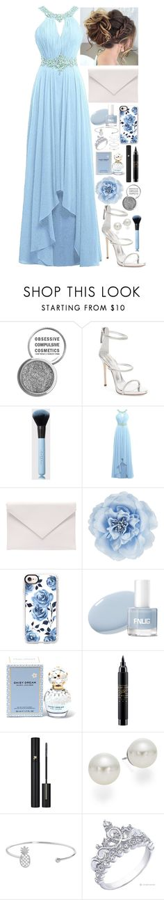 """""""Prom Perfect"""" by weareforeveralone ❤ liked on Polyvore featuring Obsessive Compulsive Cosmetics, Giuseppe Zanotti, Verali, Monsoon, Casetify, Marc Jacobs, MAC Cosmetics, Lancôme, AK Anne Klein and Humble Chic"""