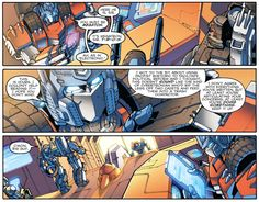 Transformers: Chaos Theory, IDW Chaos Theory (Transformers #22 – 23) Story: James Roberts Art: Alex Milne Colors: Joana Lafuente Letters: Shawn Lee Editor: Andy Schmidt Read More: The Transformed Man, Act 16: Chaos Theory   http://comicsalliance.com/the-transformed-man-act-16-chaos-theory/?trackback=tsmclip