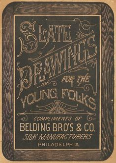 Slate Drawings cover type