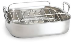 Chefs Design 1675 Inch Stainless Steel French Roaster *** Continue to the product at the image link.(This is an Amazon affiliate link and I receive a commission for the sales)