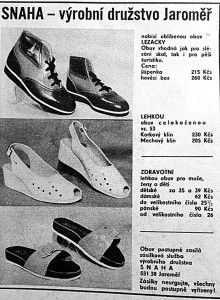 boty ze snahy