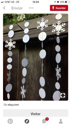 Snowflake/ Frozen Paper Garland Frozen Party Decor Winter Wonderland decorations winter wonderland Your place to buy and sell all things handmade Frozen Christmas, Noel Christmas, Winter Christmas, Christmas Crafts, Christmas Jokes, Cheap Christmas, Christmas Parties, Elegant Christmas, Christmas Paper