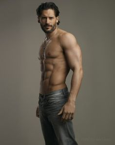 Alcide. True Blood needs to come back on RIGHT.NOW. #truebie