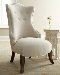 """Beatrice"" Chair by Haute House at Horchow."