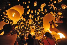 Festival of Lights in Chiang Mai, Thailand. Photo: flickr.com/people/mith17.