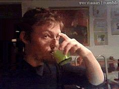 Norman flip off *gif*...I don't know why this cracks me up so much