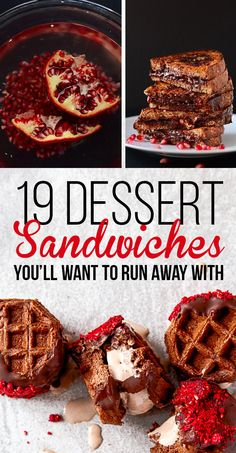 take me away with you, darling dessert sandwiches
