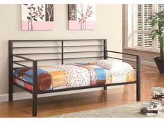 Daybeds by Coaster Contemporary Metal Daybed