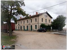 Estación de Aranda de Duero La Esperanza. http://ju5modelismo.blogspot.com.es/