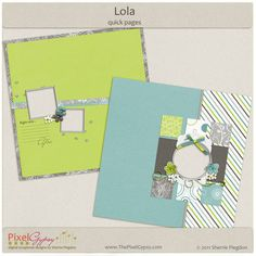 *Lola* quick pages