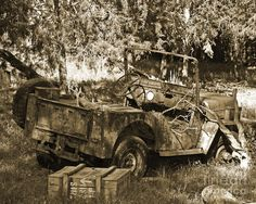 Willys Jeep Photograph  - Willys Jeep Fine Art Print