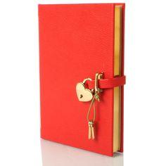 desiary.de - Tagebuch Heart, rot